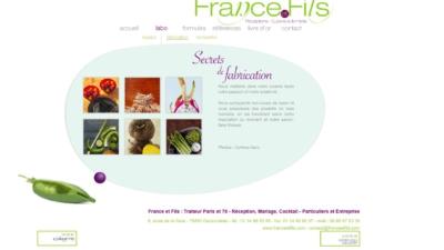 Site web France et Fils
