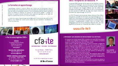Communication graphique multi supports CFA-ite