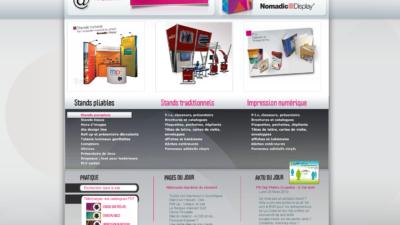 Site internet ALRIS Stand