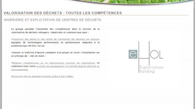 Site internet iHol eHol