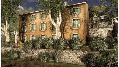Film, reconstitution Villa airbel 1940 et Site web