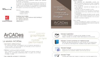 ArCADes logo et identité