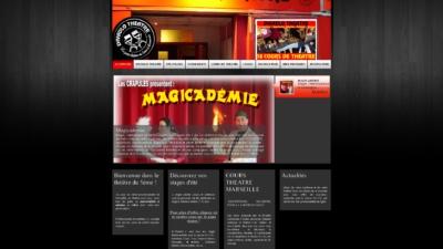 Site web Divadlo Théâtre