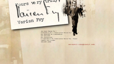 Le site officiel de l'Association Varian Fry France