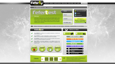 Site internet REFERTY