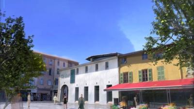 St maximin – visite virtuelle Animation